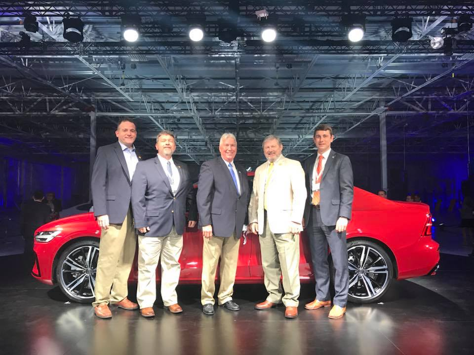 Volvo car to be built at Berkeley County plant site unveiled