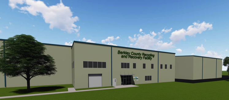 RePower South Berkeley County SC Facility Rendering
