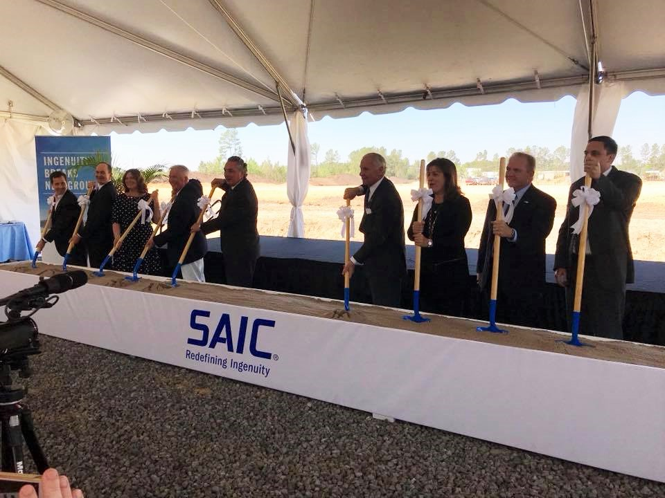 SAIC_May 2018_Groundbreaking_Berkeley County SC